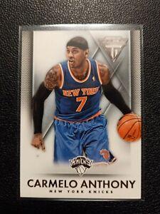 2013/14 Panini Titanium Carmelo Anthony