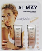 ALMAY Smart Shade Makeup LIGHT/MEDIUM 2pcs 1oz/30ml SPF 15 Hypoallergenic NIB