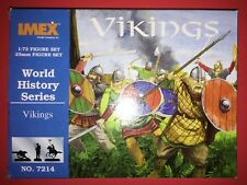 World History Series Vikings 1:72 / 25mm Figure Set No. 7214 (IMEX Model Co.)