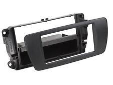 Radio Einbauset Auto 1 DIN Adapter Seat Ibiza 6J 6JN ab 08 nitschwarz Canbus