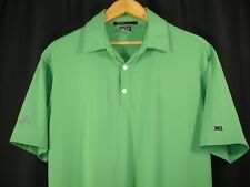 Tiger Woods Collection Nike Dri-Fit Mens Short Sleeve Polo Golf Shirt Green M