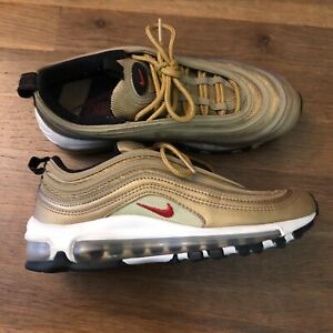 Nike Air Max Gold Sneakers Youth Boys Girls Size 5 5Y