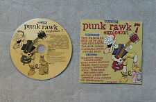 "CD AUDIO MUSIQUE / VARIOUS PUNK RAWK EXPLOSION 7 ROCK SOUND"" 22T CD SAMPLER 2000"