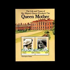 NUKUFETAU-TUVALU, Sc #48, MNH, 1986, S/S, Royalty, Queen Mother, 1ADD