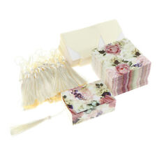 50pcs Flower Drawer Candy Boxes Tassels Wedding Birthday Party Gift Favor