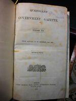 Queensland Government Gazette. Volume VII. 1866.