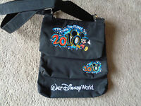Walt Disney world 2010 3 in 1 hand,tote purse bag Micky Mouse colour embroidered