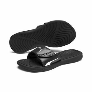 Puma Ladies Slides Beach Sandals Slippers Royalcat Comfort Wns 372025 Black