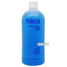 Nairobi Wrapp-It Shine Foaming Lotion 32 Fl. Oz. / 946 ml