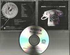 At the Drive In SPARTA Wiretap Scars w/ ARTWORK 2002 ADVNCE PROMO DJ DRMF 13934