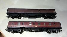Bachmann OO gauge Thompson Full Brake coach and Triang Hornby Full brake coach