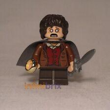 LEGO ® Hobbit Signore degli Anelli MINI PERSONAGGIO Samwise Gamgee con mantello da Set 9470