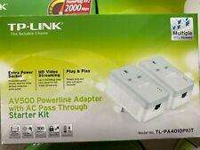 Tp-Link AV500 TL-PA4010PKIT Pass through boxed