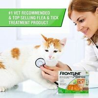 Merial Frontline Plus for Cats and Kittens Up to 8 Week and Older 3 Doses