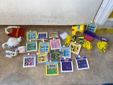 Vintage Playmates Amazing Ally Doll Cheerleader Accessories Books Tea Pot + 30+
