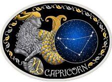 10 Denar Mazedonien Sternzeichen Steinbock - Capricorn 2014 PP Silber, Gold