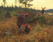 Goodwin Philip The Northwood King Canvas 16 x 20   #4976