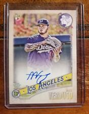 Alex Verdugo 2018 Topps Gypsy Queen Autograph GQ Logo Swap Parallel #61/99.