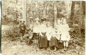 Orig. Foto-AK in/um KÖNIGSBERG Familie/Kinder 1918