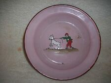 Vintage Late 1910s to Early 1920s German Hand Painted Bowl