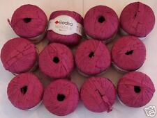 Gedifra Possibile Ribbon Yarn w/ Cotton; Mauve