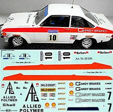 Ford Escort Rs Gandy Frenos Rally #10 1 :3 2 Pegatina Adhesivo