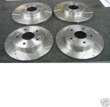 Honda Civic Type R Ek9 importación Disco De Freno Cruz perforados acanalada para disminución de Freno Delantero Trasero