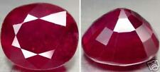 Africa Natural Red  Ruby Oval Facet Gemstone 2.89 Ct or .55g