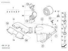 Air Filter Genuine BMW 1 Series E88 3 Series E90 X1 (6 Cyl Petrol) 13717536006