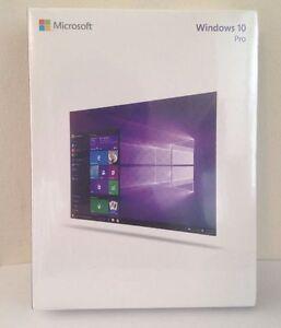 Microsoft Windows 10 Professional,SKU FQC-08788,Sealed Box,32-bit,64-bit,USB 3