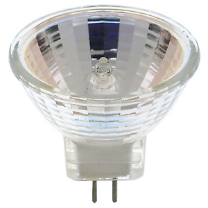 10W 12V MR11 Halogen Spot Reflector Warm White Sub-Miniature BiPin GZ4 Base Bulb