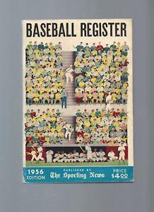 Sporting News 1956 Baseball Register.