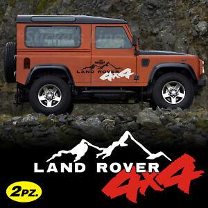 Adesivi LAND ROVER Defender Freelander Discovery ecc fuoristrada 4X4 off road