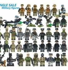 LEGO MINIFIGURES CUSTOM COMPATIBILI military- soldati - soldiers war esercito