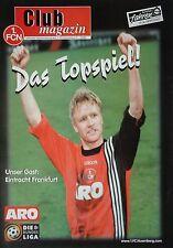 Programm 1997/98 1. FC Nürnberg - Eintracht Frankfurt