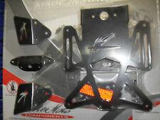 Valter Moto portatarga Kawasaki ZX6R 2007 compresa luce PRTNK06 alluminio PISTA