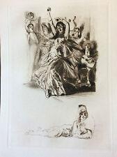 Alméry LOBEL-RICHE (1880-1950) Riche Alméric Espagne Danseuse Flamenco attribué