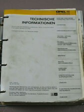 Opel Record-E Commodore-C Werkstatthandbuch Reparaturleitfaden Technische #30371