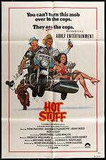 1979 HOT STUFF Suzanne Pleshette Don DeLuise Original ONE SHEET MOVIE POSTER