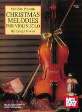 Navidad Melodías Para Violin Solo