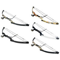 40-55 lb Black / Sliver / Camouflage Camo Archery Hunting Compound Bow 75 50