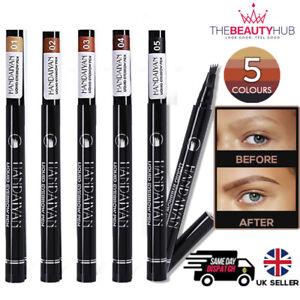 Microblading Tattoo Eyebrow Pencil 3D  Brow Brush Tint Pen Waterproof Makeup