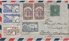 Briefmarken aus Süd- & Mittelamerika mit Mischfrankatur