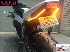 Buell Motorcycle 12V Tail  Indicators Blinkers  Integrated LED Light Strip !