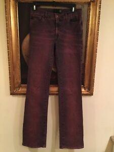 Just Cavalli raspberry wash Denim Flared Jeans SZ 27