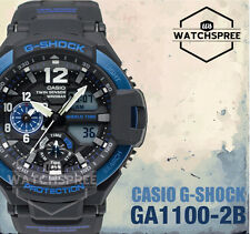 Casio G-Shock Master of G Gravitymaster Series Watch GA1100-2B AU FAST & FREE