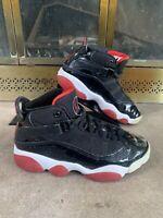 Nike Air Jordan 6 Rings PS Varsity Red White Black (323432-062) Size Child 13C