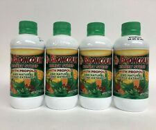 4pk BRONCOLIN Honey Syrup PROPOLIS Natural Plant Extracts Dietary Supplement