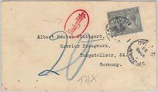 52019 - TRINIDAD & TOBAGO - POSTAL HISTORY - COVER to GERMANY 1927 - TAXED!