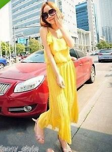 ROSE PINK YELLOW WHITE CHARMING VOILE MAXI DRESS NEW FREE POSTAGE